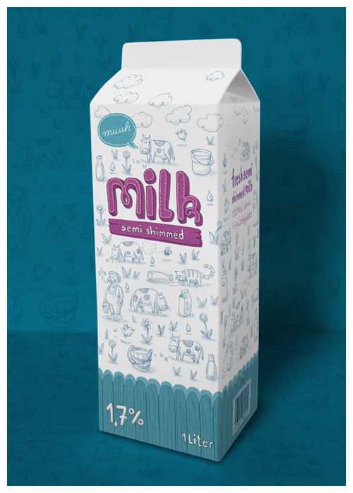 MILCH PACKUNG